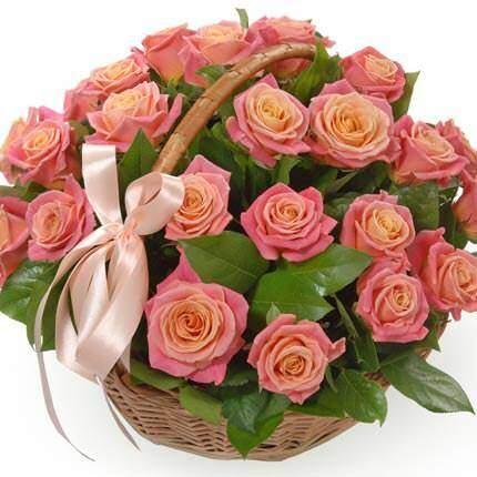 "Корзина ""Мисс Пигги"" 29 роз"