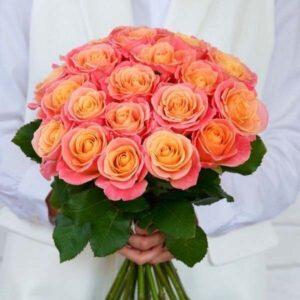 Букет роз 3D 21 штука