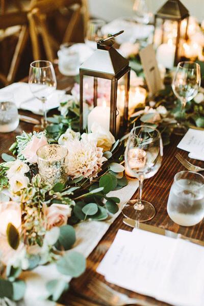 Оформление свадьбы цветами 6