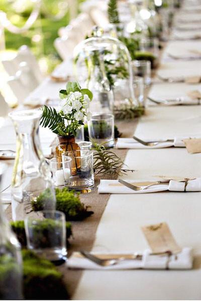 Оформление свадьбы цветами 7