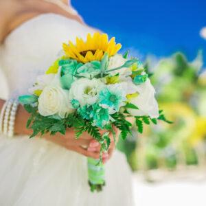 """Свадебный букет невесты """"Веселый день"""""""
