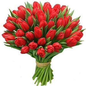 Букет 51 тюльпан № 121