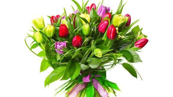 Букет 51 тюльпан № 130