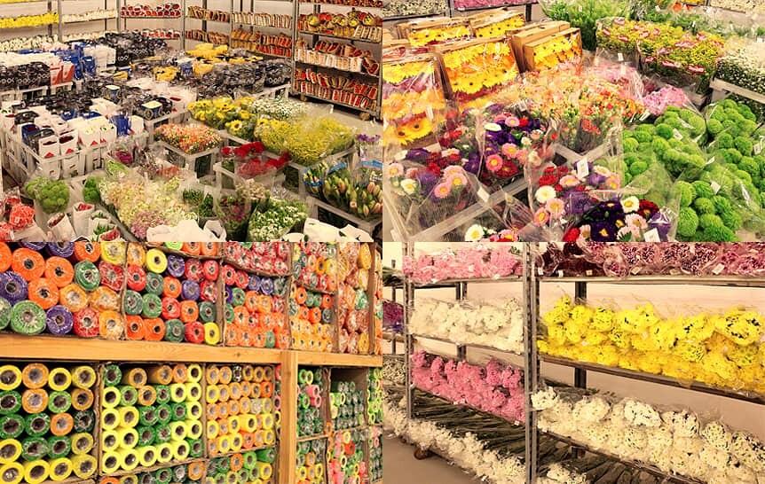 Цветы оптом в Одессе. Склад цветов