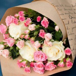 Букет из роз №158