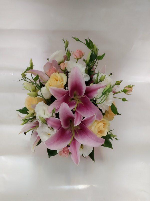 Цветы корзина 61
