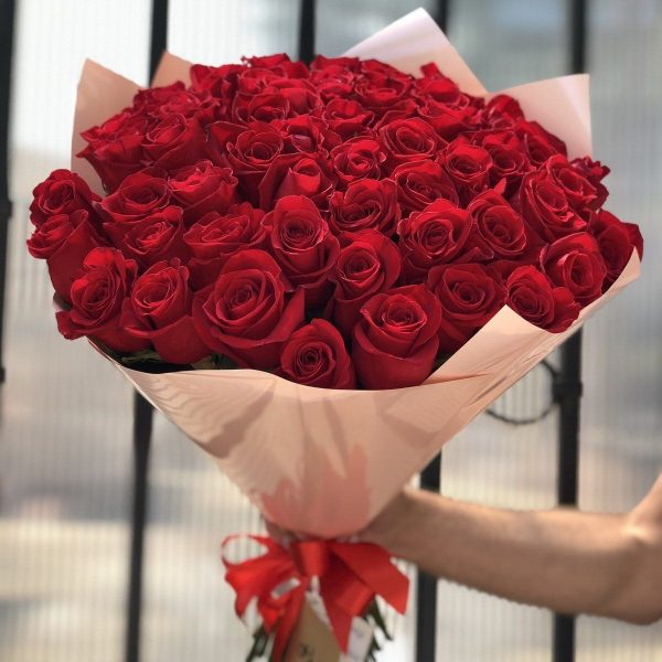 букет 51 Роза Эквадор