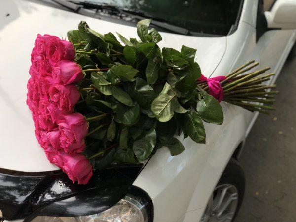 Эквадорская Роза сорт Пинк Флоид 25 веток
